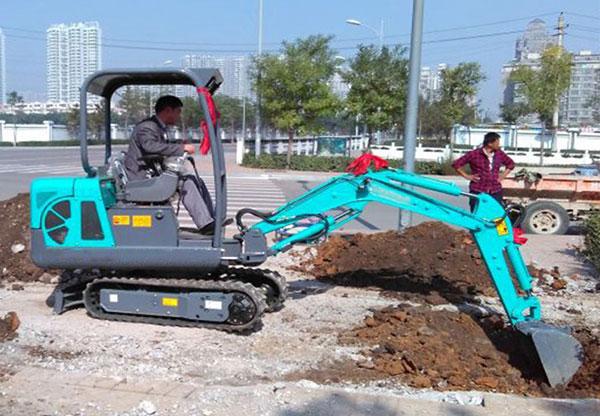 小挖机客户案例